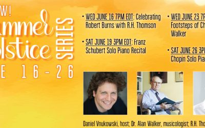 JUNE – new series of events!